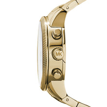 Load image into Gallery viewer, Michael Kors MK5676 Ritz Gold-Tone Ladies' Chronograph Watch