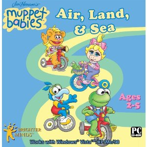 Fun & Educational PC Game: Muppet Babies Air, Land and Sea Software (2-5 Years)