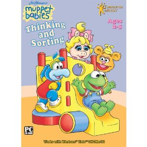 Fun & Educational PC Game:Muppet Babies Thinking and Sorting Software (2-5 Years)