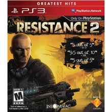 Load image into Gallery viewer, Resistance 2 (PS3)