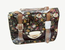 Load image into Gallery viewer, Nicole Lee U.S.A. Florence Floral Patent Satchel