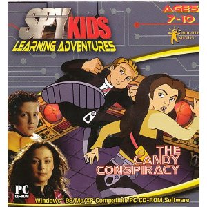 Fun & Educational PC Game: Spy Kids: The Candy Conspiracy(7-10 Years)
