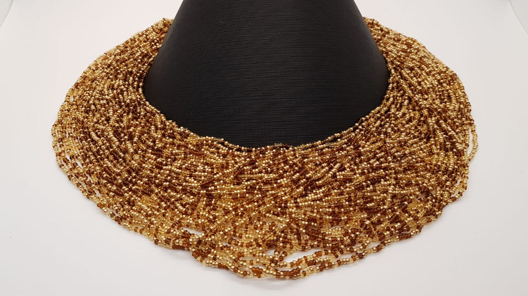 Exquisite Seed Bead-Moonstone Torsade Necklace NIB - Joan Rivers
