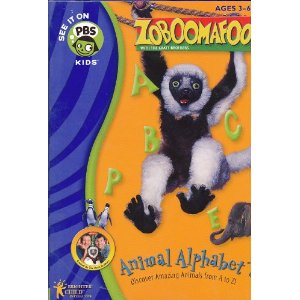 Fun & Educational PC Game: Zoboomafoo Animal Alphabet, PBS (3-6+ Years)