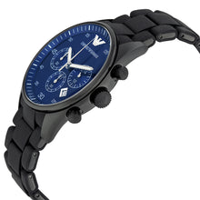 Load image into Gallery viewer, Emporio Armani Men's AR5921 Blue Dial Chronograph Sportivo Watch