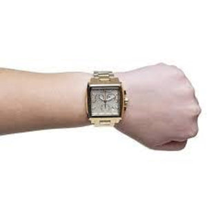 Michael Kors Ladies MK5330 Gold Stainless Steel Watch