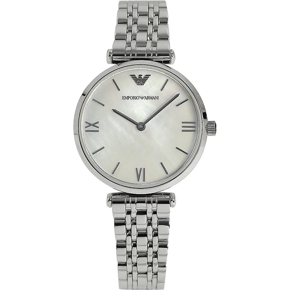 Emporio Armani Retro AR1682 Silver Lady's Watch