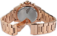 Load image into Gallery viewer, Michael Kors MK5755 Rose Gold-Tone Glitz Everest Ladies' Chronograph Watch