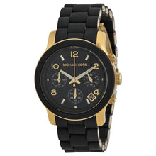 Load image into Gallery viewer, Michael Kors MK5191 Catwalk Ladies' Black Chronograph Watch