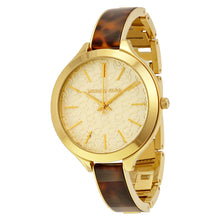 Load image into Gallery viewer, Michael Kors MK4293 Women's Slim Runway Gold-Tone Stainless Steel Watch