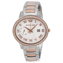 Load image into Gallery viewer, Michael Kors MK6228 Whitley Silver Dial Two-tone Ladies' Watch