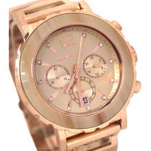 Load image into Gallery viewer, Michael Kors MK5791 Lillie Rose-Gold Tone Stainless Steel Ladies' Chronograph Watch