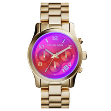 Load image into Gallery viewer, Michael Kors Runway Colorful Dial Rose Gold-tone Ladies Watch MK5939
