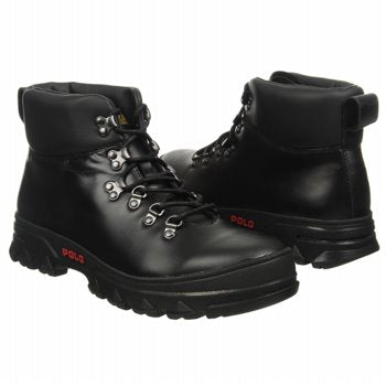 Polo Ralph Lauren Black Hainsworth Boots