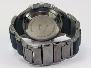 U.S. Polo Assn. US8163 Black Dial Gun Metal Bracelet Men's Sports Watch