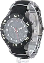 Load image into Gallery viewer, U.S. Polo Assn. US8163 Black Dial Gun Metal Bracelet Men's Sports Watch