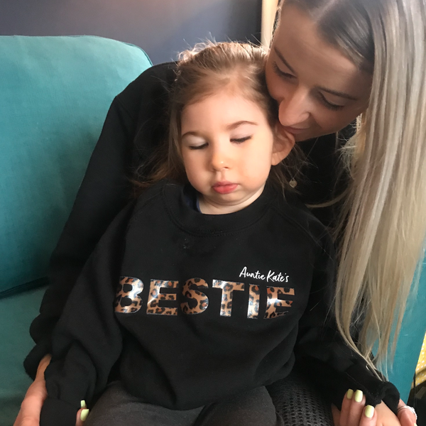 Matching BESTIE sweatshirt (kids)