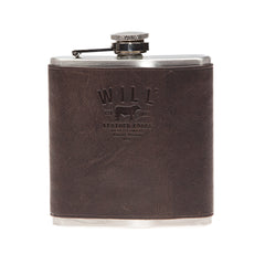 Will Leather Hip Flask