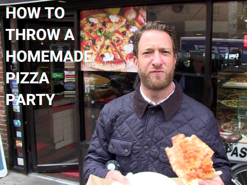 How to Throw a Homemade Pizza Party | and everything you need