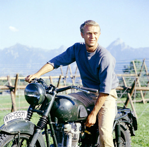 Steve McQueen from The Great Escape