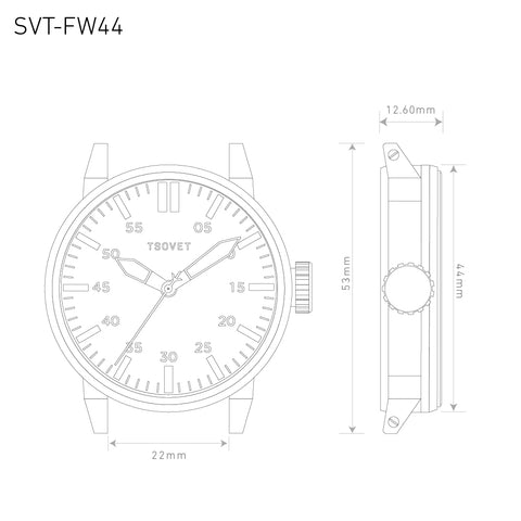 SVT-FW44 Tsovet Watch