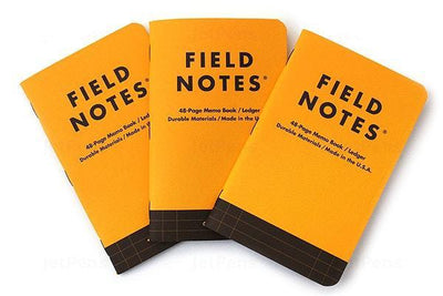 Field Notes Utility Ledger 3 Pack