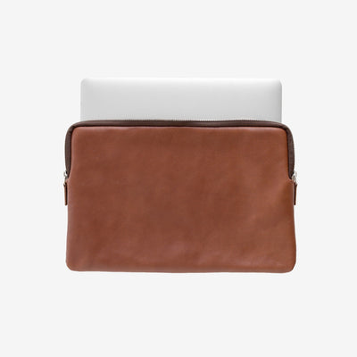This Is Ground Laptop Sleeve 2 Cognac