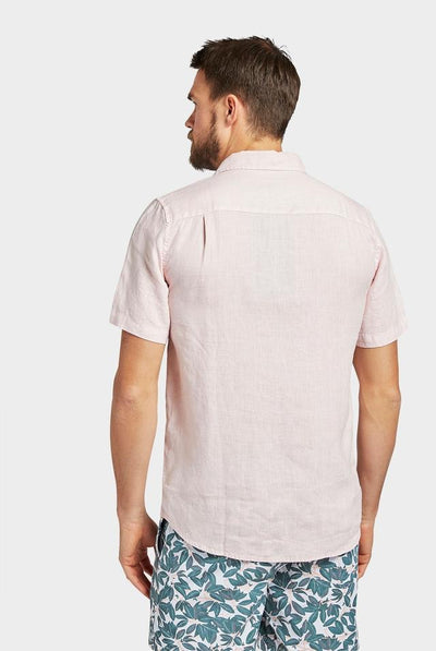 Academy Brand Hampton Linen Shirt Short Sleeve