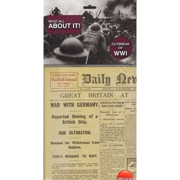 AM Living | Outbreak of WW1 Paper