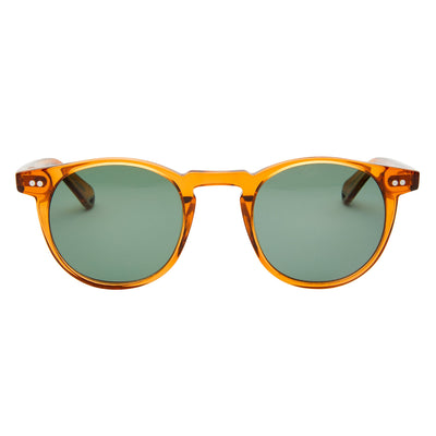 Pacifico Optical Buckler - Amber With Polarised Green Lens