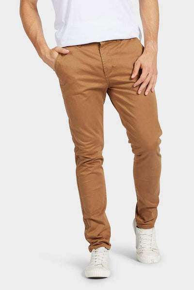 Academy Brand Skinny Stretch Chino - New Coffee