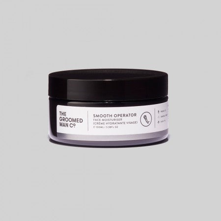 The Groomed Man Co. Smooth Operator Face Moisturiser