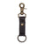 Will Leather Wren Keychain Black