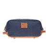 Will Leather Grady Travel Kit Navy Tan