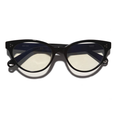 Pacifico Optical Francis - Black With Blue Light Lenses