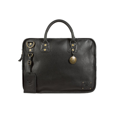 Will Leather Hank Satchel Black
