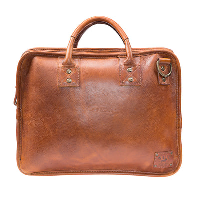 Will Leather Hank Satchel Tan