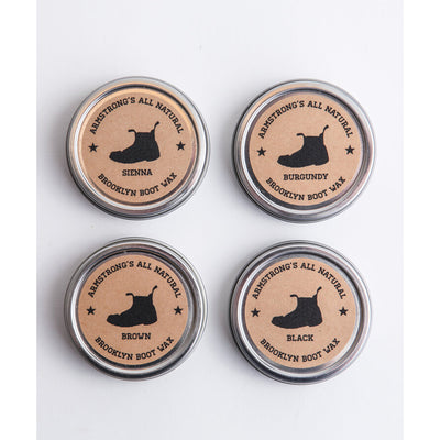 Armstrong All Natural Brooklyn Boot Wax