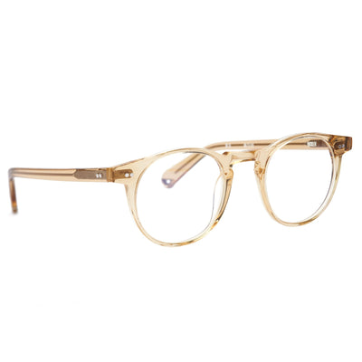 Pacifico Optical Buckler - Champagne With Blue Light Lenses