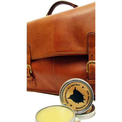 Armstrong All Natural Brooklyn Leather Wax
