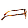 Pacifico Optical Campbell - Chocolate Havana with Green Lenses