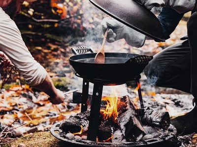 Barebones All-in-One Cast Iron Grill