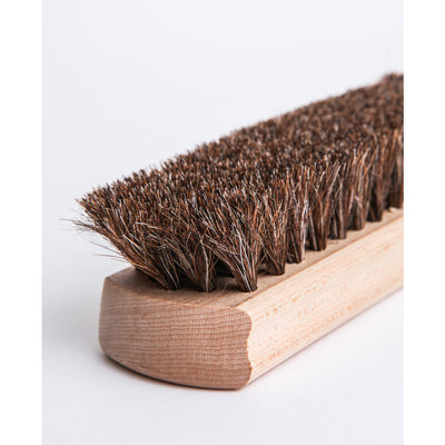 Armstrong All Natural Genuine Natural Wood & Horsehair Buffing Brush