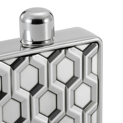 Royal Selangor Hexagon Hip Flask