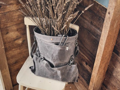 Barebones Gathering Bag – Waxed Canas
