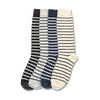 American Trench Cotton Breton Stripe Socks