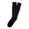 American Trench Textured Herringbone Supima Cotton Socks Black