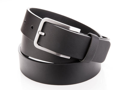 Danny P. Leather Belt Black