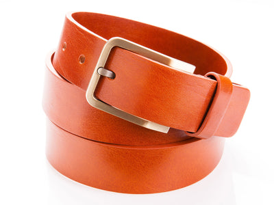 Danny P. Leather Belt Tan