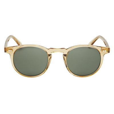 Pacifico Optical Buckler - Champagne/Green Lens